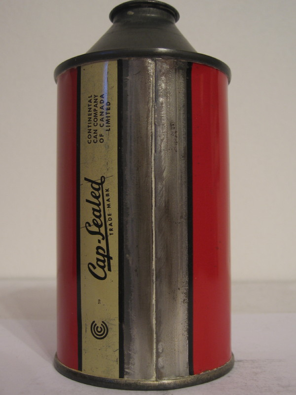 CANADA CARLING´S RED CAP (cone top) side 2