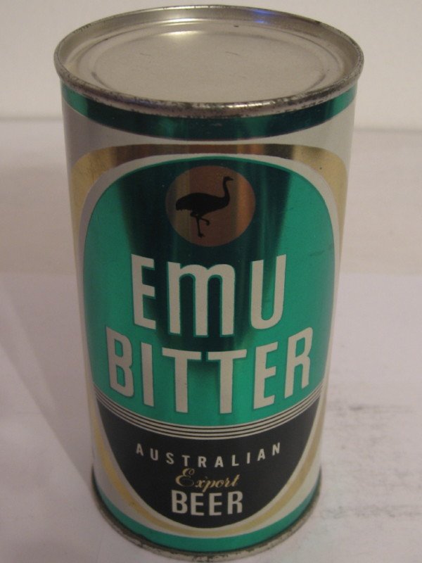 AUSTRALIA EMU BITTER (flat top) side 1