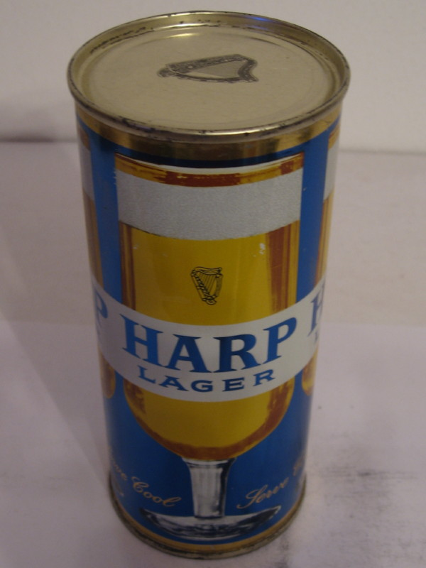 IRELAND HARP LAGER (flat top) side 1