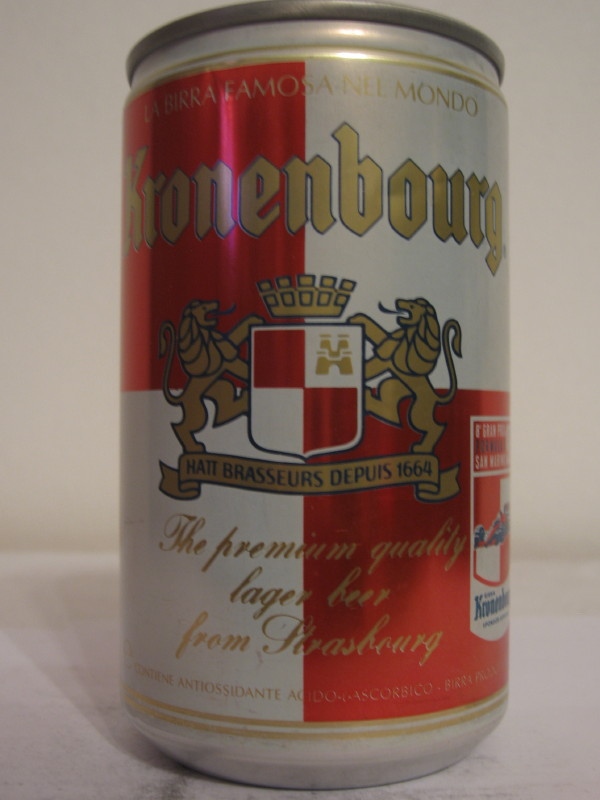 SAN MARINO Kronenbourg (AL can) side 1