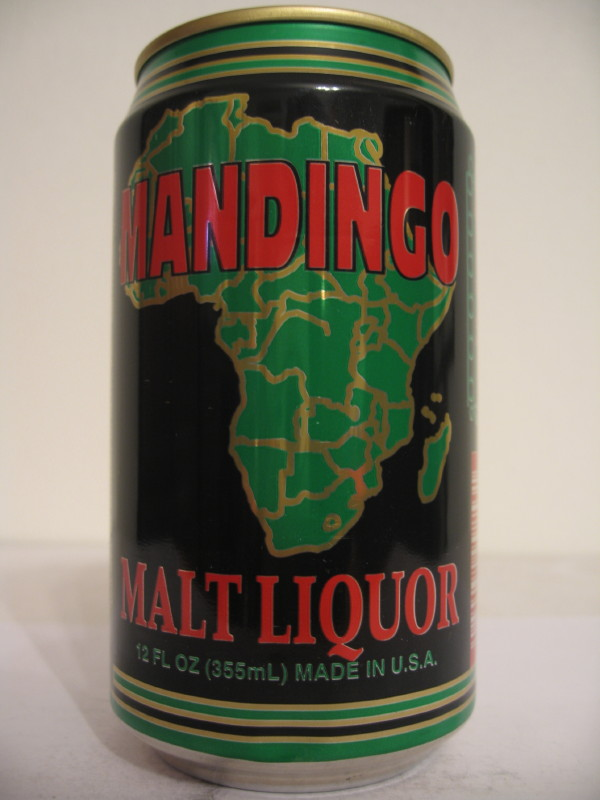 MALI MANDINGO MALT LIQUOR (AL can) (B/O) side 1