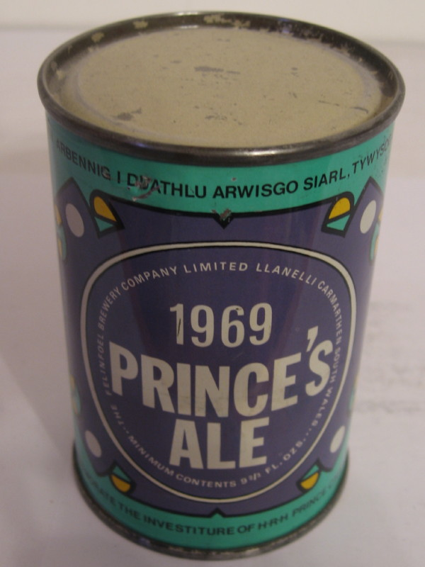 WALES PRINCE´S ALE (flat top) side 1