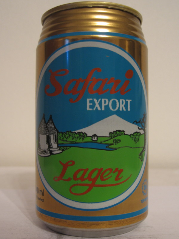 TANZANIA Safari EXPORT Lager (AL can) (B/O)