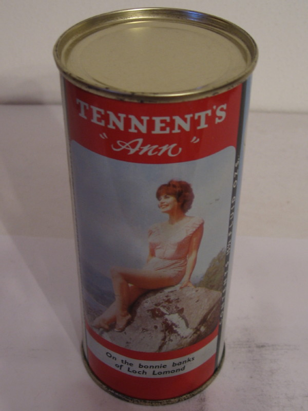 SCOTLAND TENNENT´S ANN (flat top) side 1