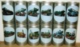 Becker´S Pils complete set 12 trains from Germany