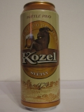 Kozel světlý (export for Russia)