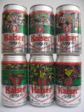 Kaiser COPA 94 set from BRASIL (35cl)
