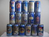 Labatts Pilsener complete set from CANADA (35cl)