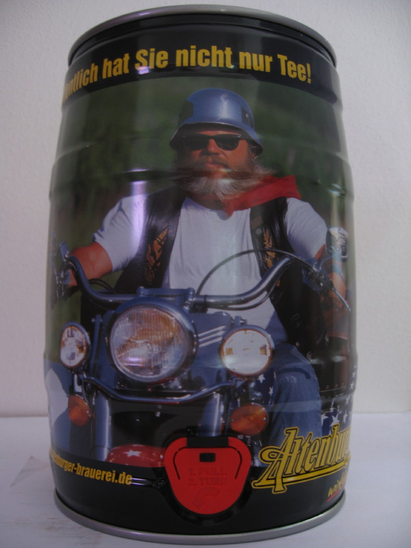 Altenburger motorcyclist