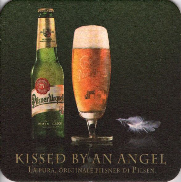 Pilsner Urquell KISSED BY AN ANGEL