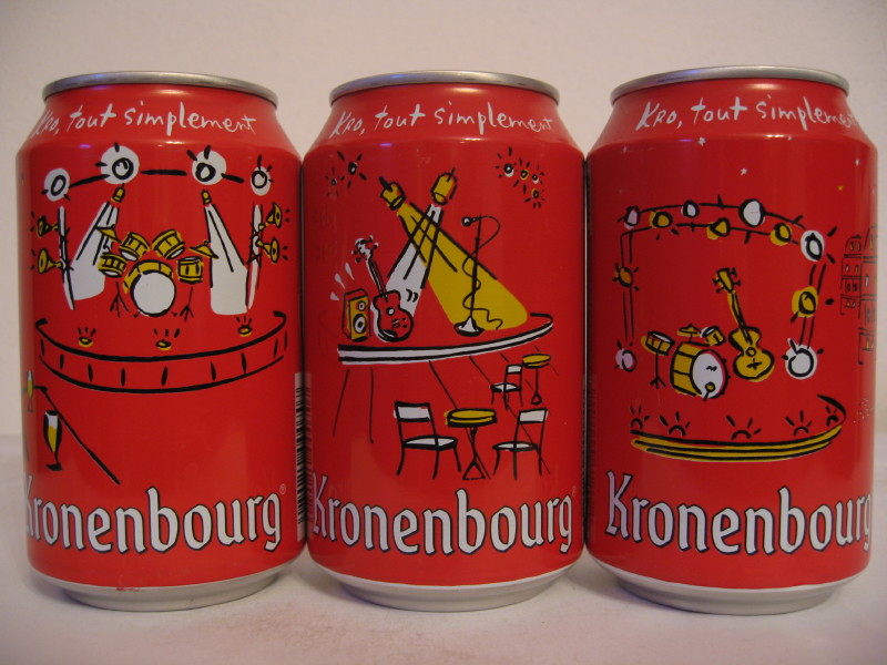 Kronenbourg music set from FRANCE (33cl) (B/O)