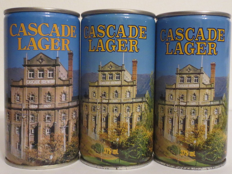 CASCADE LAGER RESIDENCE BREWERY set from AUSTRALIA (37,5cl)