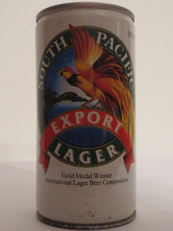 SOUTH PACIFIC EXPORT LAGER (37,5cl)