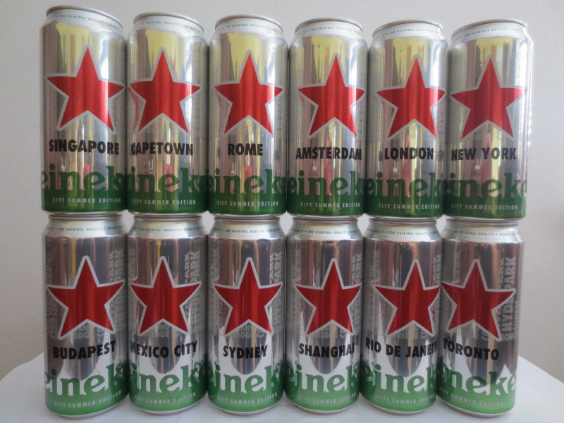 Heineken CITY set (AL) (44cl) (B/O)
