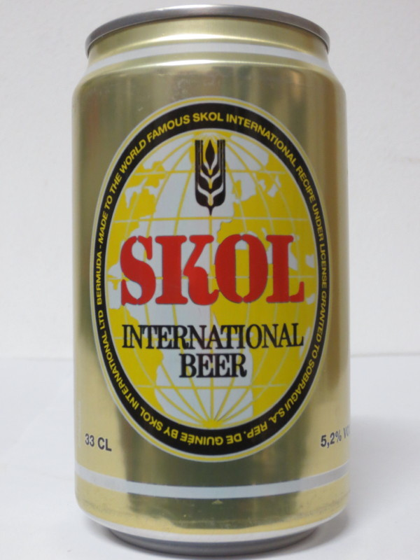 SKOL INTERNATIONAL BEER (33cl) (B/O)