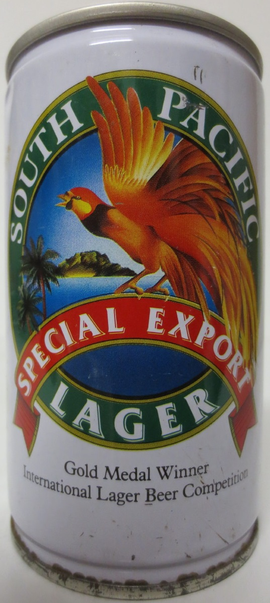 SOUTH PACIFIC SPECIAL EXPORT LAGER (33cl) (B/O)